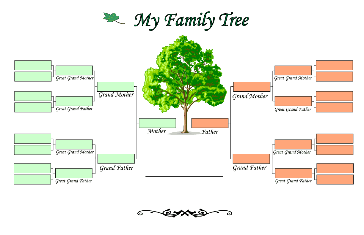 family tree templates find word templates