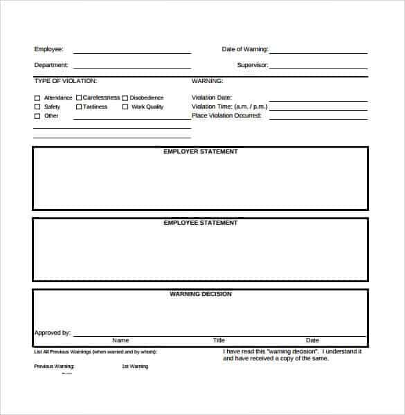 Employment Write Up Template from www.findwordtemplates.com