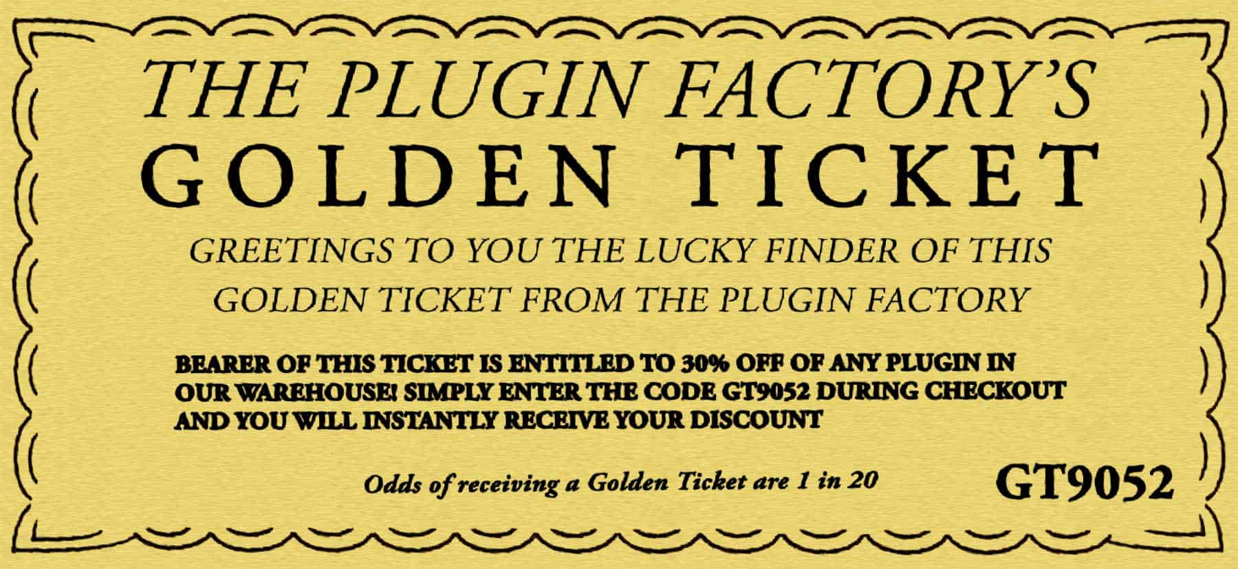 It is a picture of Versatile Printable Golden Tickets