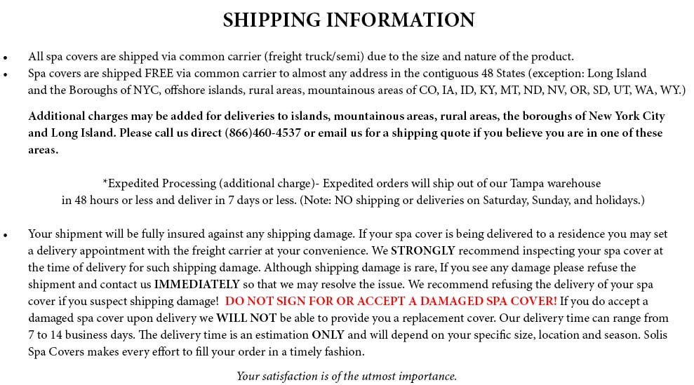 Shipping Policy Templates - Word Excel Fomats