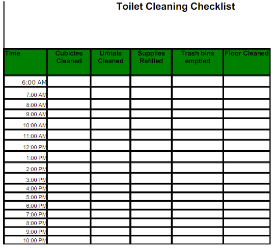 Maintenance Checklist Template Excel from www.findwordtemplates.com