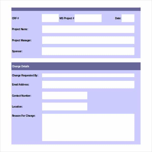 11  change order templates  u0026 forms